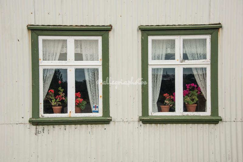 Windows, Arbaejarsafn Museum, Iceland