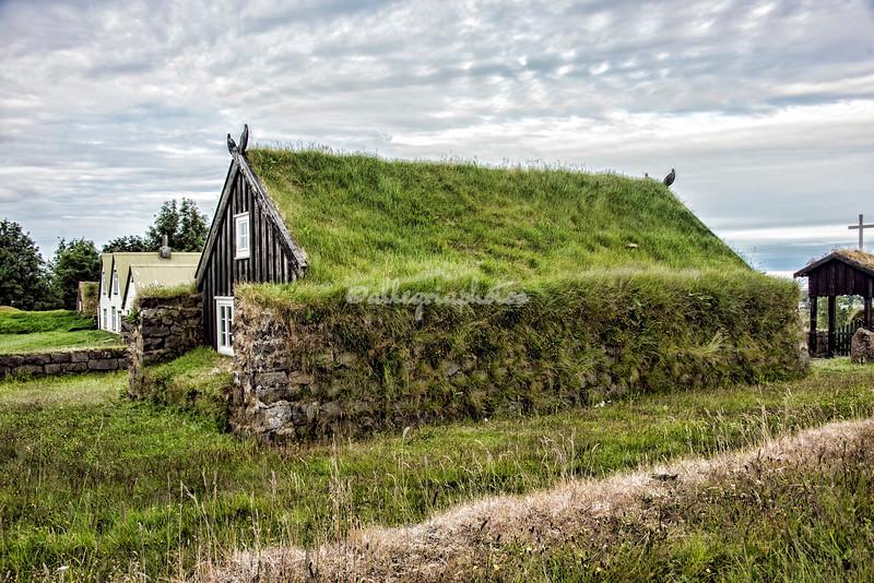Sod Church, Arbaejarsafn Museum, Iceland