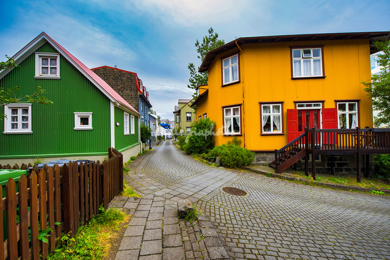 Houses in Old Reykjavik