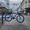 Bicycle sculpture, Reykjavik