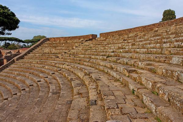 ostia antica, theatre