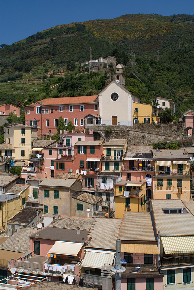 Supposedly this church had some role in the town's history, but I forget what I read . . .<br /> <br /> Vernazza, Italy