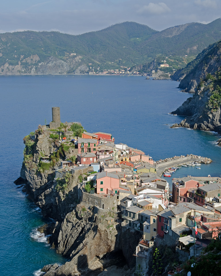 Vernazza<br /> <br /> from trail #2<br /> <br /> Cinque Terre, Italy
