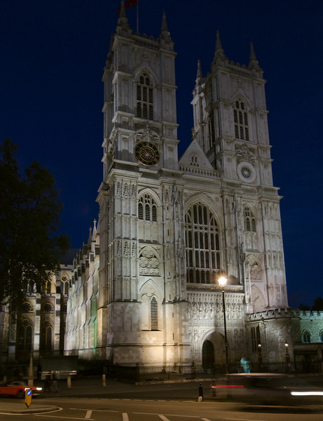 Westminster Abbey<br /> <br /> Spooky at night!<br /> <br /> London, England