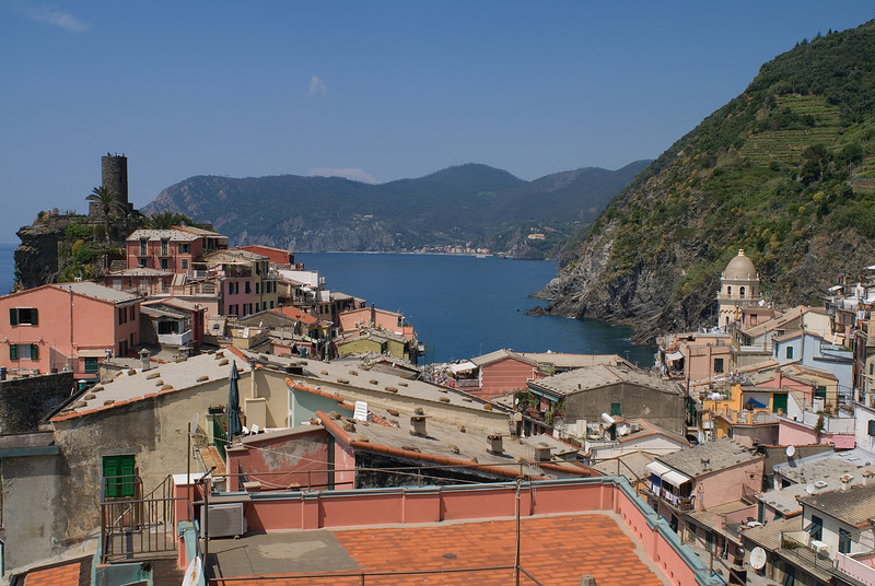 Terrace in Vernazza