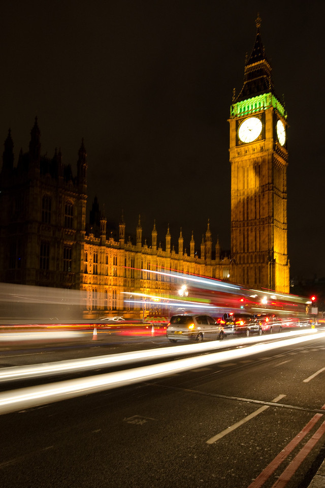 Big Ben<br /> <br /> And Traffic!<br /> <br /> London, England