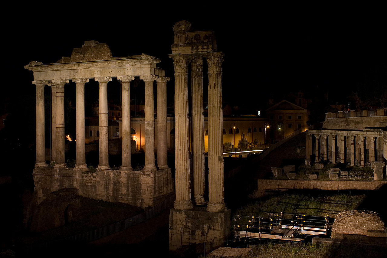 Forum by Night