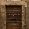 Door in Civitella del Tronto, Abruzzo