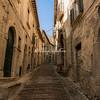 Narrow Medieval street in Civitella del Tronto, Abruzzo