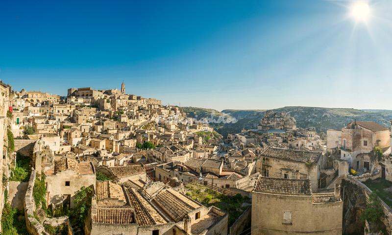 Panorama of Matera, Basilicata