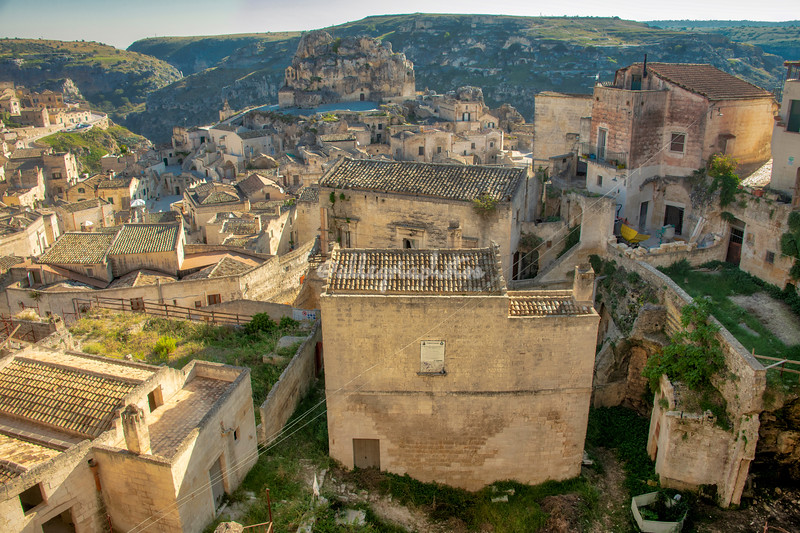 View over the Sassi, Matera
