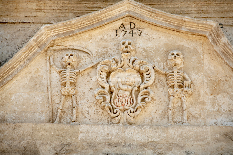 Detail of the Church of the Purgatory, Matera