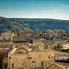 The rooftops of Matera