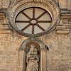 Detail of the Palazzo Lanfranchi, Matera