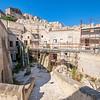 Restoration in Matera, Basilicata, Italy