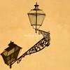 Reflection of a wall mounted lantern, Giardino Di Boboli, Florence