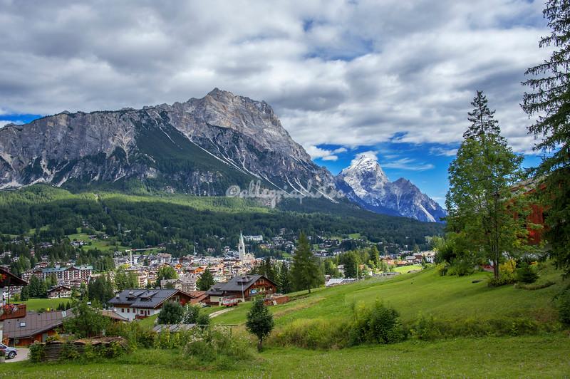 Corina d'Ampezzo, Dolomites