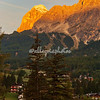 Sunrise on the Dolomites above Cortina