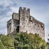 The Michaelsburg Castle in San Lorenzo near Brunico, South Tyrol, Italy
