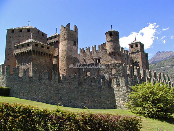 Fenis Castle, Aosta, Itly