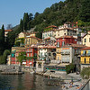 Varenna waterfront (Lake Como) Italy