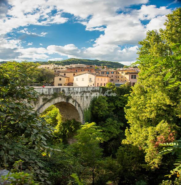 Roman Bridge over the Tronto River, Ascoli Piceno