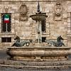 Fountain in Piazza Aringo, Ascoli Piceno