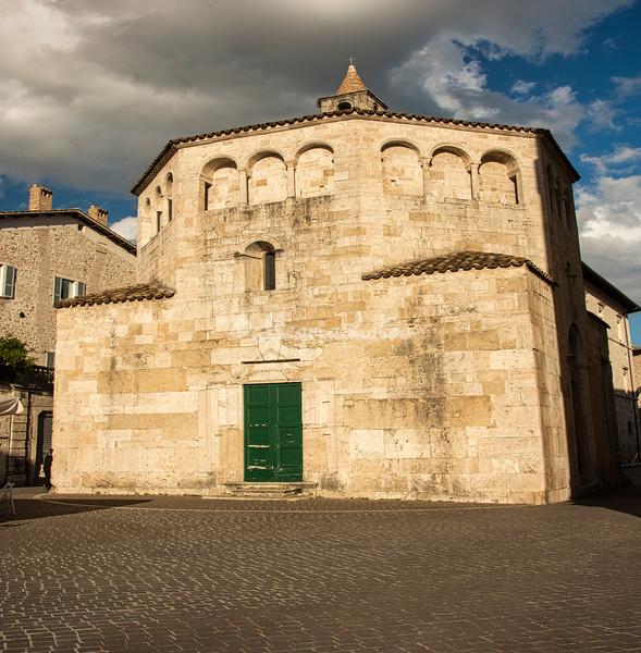 The Baptistry, Sant'Emidio, Ascoli Piceno