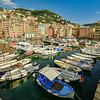 The marina, Camogli, Liguria