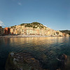 Panorama of the Camogli waterfront, Liguria
