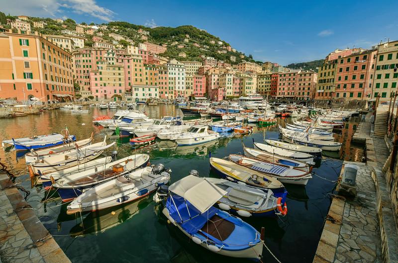 The marina, Camogli, Liguria