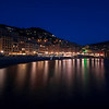 The Camogli Waterfront by night, Liguria