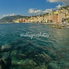 The Mediterranean Sea at Camogli, Liguria