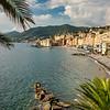 Camogli's beach front, Liguria