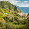 Hiking to Vernazza, Cinque Terre