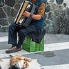 Street performer, Monterosso al Mare