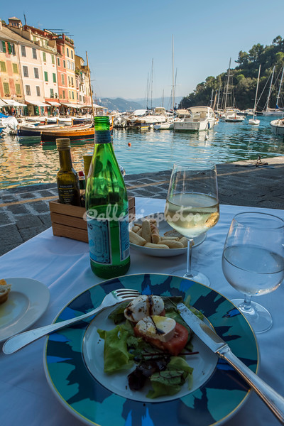 Portofino harbor lunch