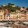 Colored houses of Portofino