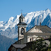 The Church at Corteno Golgi, Valtellina, Italy