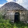 Ancient Trullo in a field, Puglia