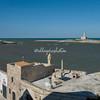Looking towards the lighthouse, Vieste, Puglia
