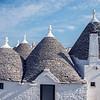 Trulli Rooftops, Alberobello, Puglia, Italy