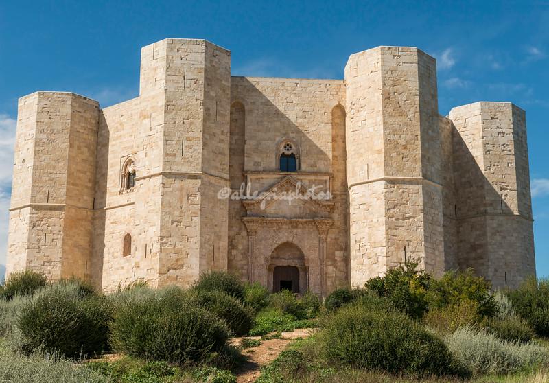 Castel del Monte built by Frederick II, Puglia