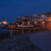 Night shot of Vieste, Puglia