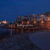 Night shot of Vieste, Puglia