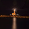 The Vieste Lighthouse by night, Puglia