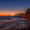 Sunrise over Vieste, Puglia