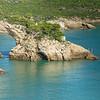 A natural arch along the coastline, Puglia