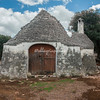 An abandoned Trullo near Cisternino, Puglia