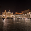 St. Peter's Square, Rome, at Christmas time